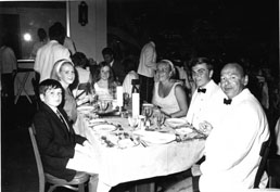 Van Kempen Family - 1970 - Dining room, Tower Isle Hotel, Ocho Rios